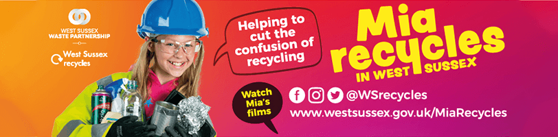ia Recycles in West Sussex banner advert